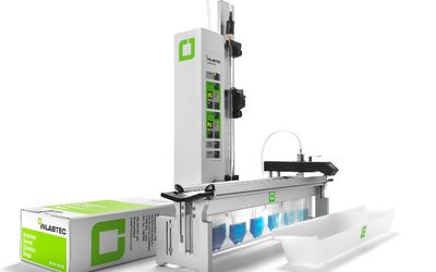 Inlabtec Serial Dilution System for viable cell count determination