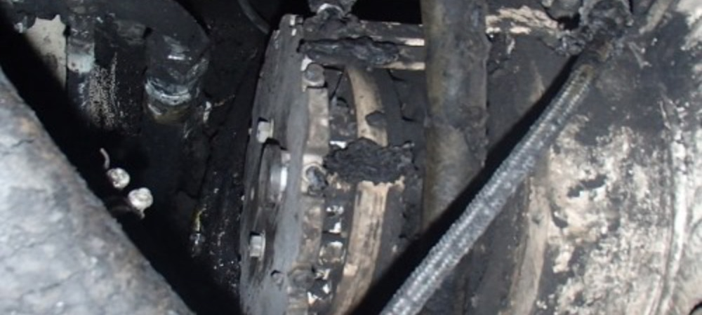 Damaged cable results in feeder breaker fire