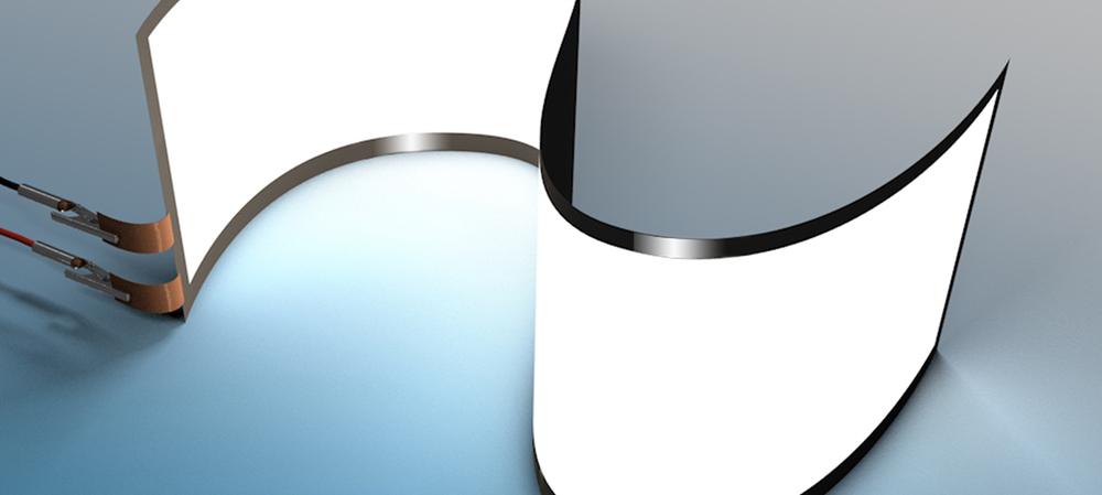 Flexible glass for flexible electronics