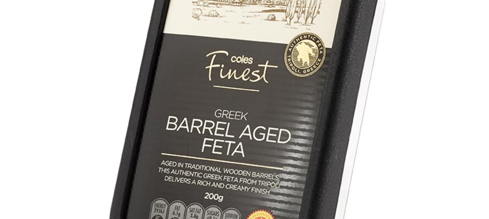 Luxury packaging for premium feta