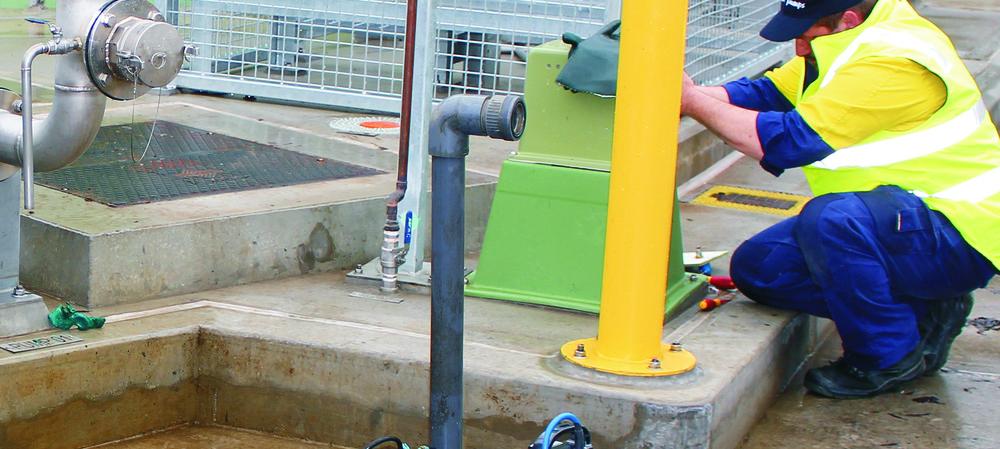 Titanium pump solves sewage spill challenge