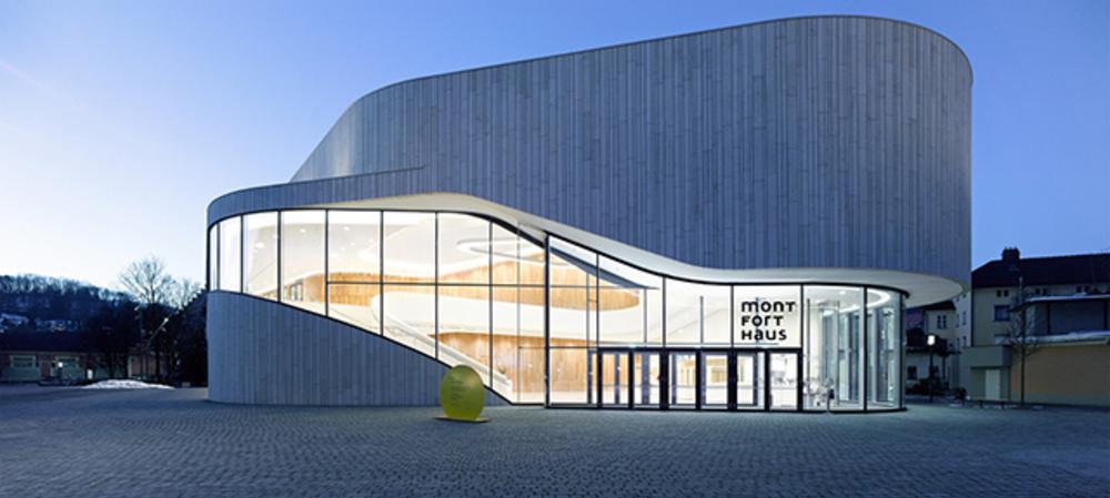 LED lighting design for cultural hub in Austria