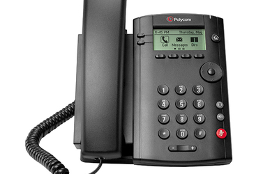 Polycom VVX 101 and VVX 201 business phones