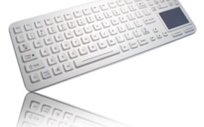 Interworld Electronics SK-97-TP sealed medical keyboard