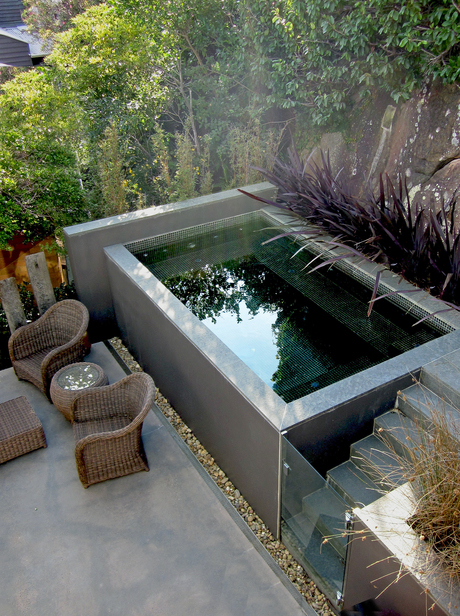 Small pools for small spaces Above ground swimming pools for small yards