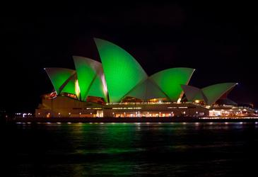 Greening the house — the Sydney Opera House
