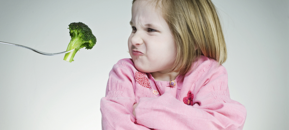 You can lead a child to veggies, but you can't make him eat them