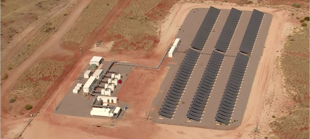 Solar energy delivering 'microgrid' power to remote towns in WA