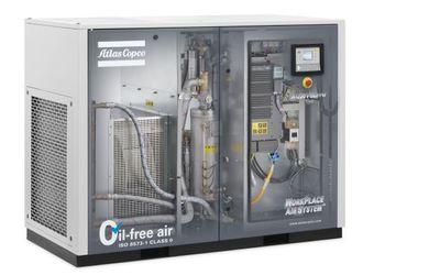 Atlas Copco AQ 15-30 VSD oil-free compressor