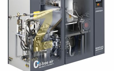 Atlas Copco ZR 55 VSD oil-free compressor