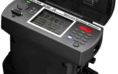 Megger DLRO 10X digital micro-ohmmeter