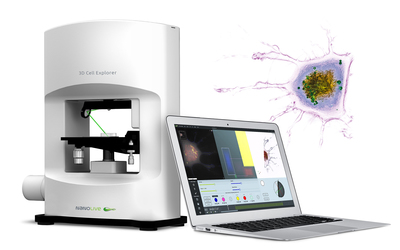 Nanolive 3D Cell Explorer holographic and tomographic microscope