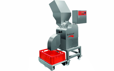 Foodlogistik ShreddR continuous cutting solution