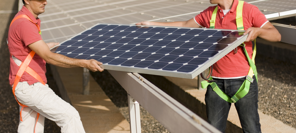 Solar PV training and installation challenges