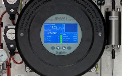 Michell Instruments QMA601 process moisture analyser