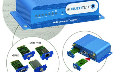 MultiTech MultiConnect Conduit programmable wired and wireless gateway