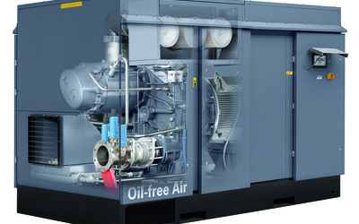 Atlas Copco ZE5/6 series low-pressure air compressors