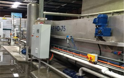 Hydroflux HyDAF Dissolved Air Flotation unit