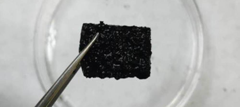 Self-healing gel for flexible electronics