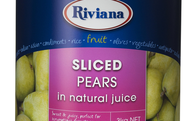 Riviana Sliced Pears in Natural Juice
