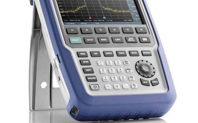 R&S Spectrum Rider FPH handheld spectrum analyser