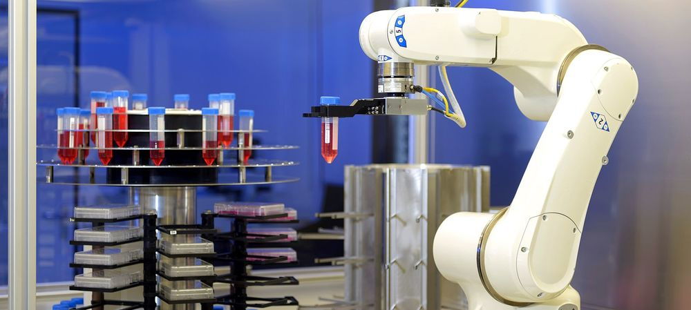 Industry 4.0 meets real-time stem cell production