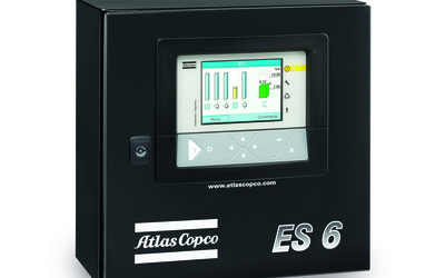 Atlas Copco ES controllers for multiple compressor installations