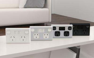 Repelec USBsockets wall socket range