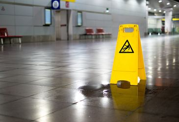 Don't slip up — deal with your workplace hazards