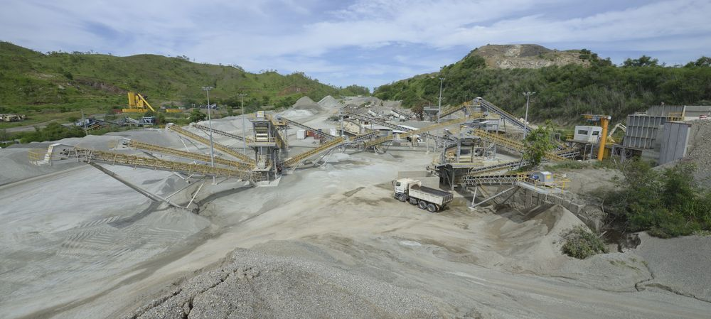 PNG showcases world-class technology at Monier's Nebiri quarry