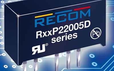 RECOM RxxP22005D and RKZ-xx2005D series DC/DC converters for SiC MOSFETs