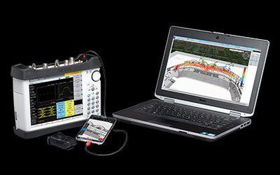 Anritsu MA8100A Series TRX NEON 3D In-building Signal Mapper