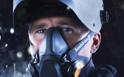 Sundström SR900 modular half-face respirator