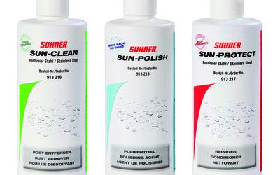 Suhner Australia plant-based INOX metal cleaners