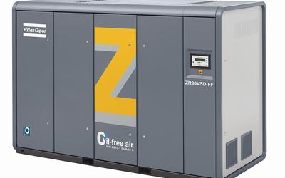 Atlas Copco Z Series variable speed drive compressor