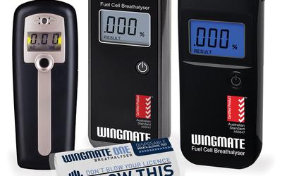 Wingmate personal breathalysers