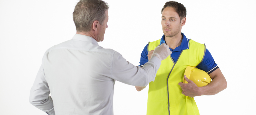 Managing non-negative results when workplace drug testing