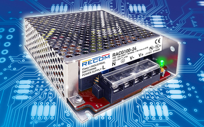 RECOM RACG100 and RACG150 power supplies