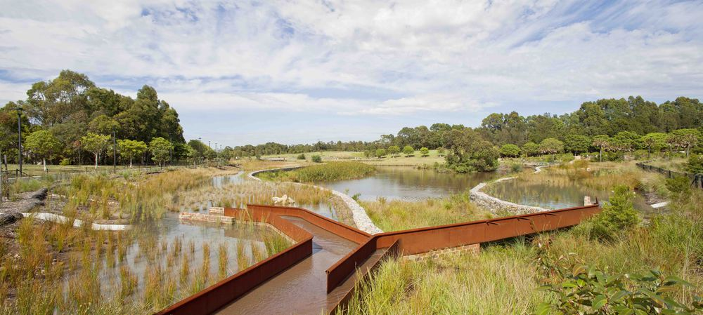 Stormwater recycling project with a winning design
