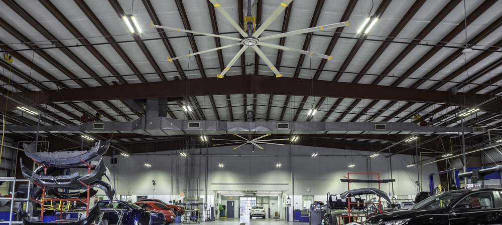 Keeping workers safe and productive with HVLS fans