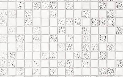 Bisazza Platino 100% platinum mosaic tiles