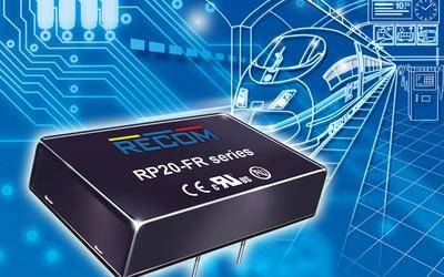 RECOM RP20-FR series 20 W DC/DC converter