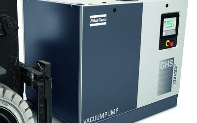 Atlas Copco GHS 350-900 VSD+ Series intelligent vacuum pumps