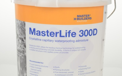 BASF MasterLife 300D capillary waterproofing admixture product
