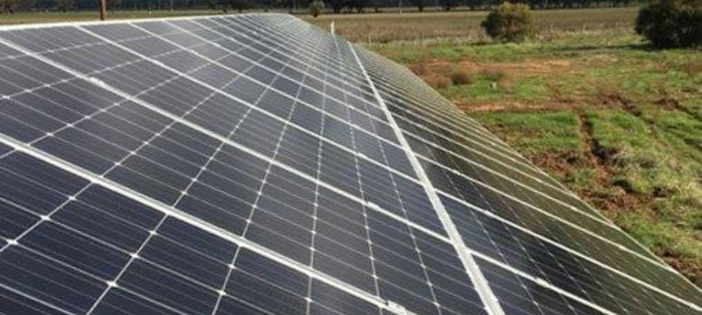 Water treatment powered by solar energy