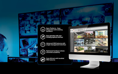 Panasonic Video Insight video management software