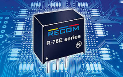 RECOM R-78E series switching regulator modules