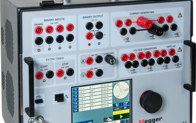 Megger SVERKER 900 relay and substation test system