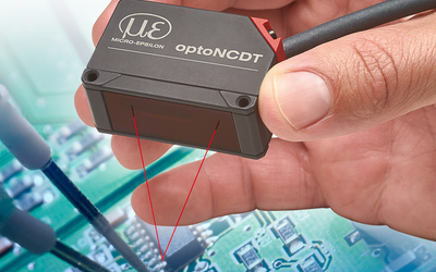 Micro-Epsilon optoNCDT 1420 laser triangulation displacement sensor