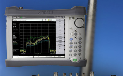 Anritsu Site Master, Spectrum Master and Cell Master handheld field analysers